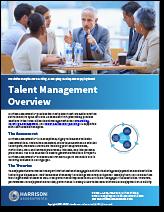 Talent Management Overview