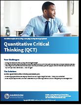 Quantitative Critical Thinking