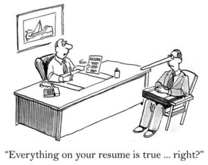 Tell the Truth - Ever Lie on a Job Application? (I bet you did)