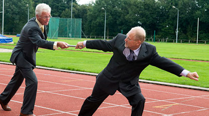 Succession Planning - passing the baton